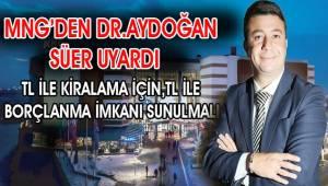 Dr. Aydoğan Süer'den önemli tespit