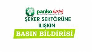 PANKOBİRLİK'ten Önemli Basın Açıklaması