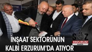 Doğu Anadolu Erzurum İnşaat, Gayrimenkul ve Kent Fuarları'nın açılışı gerçekleştirildi