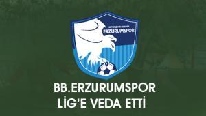BB.Erzurumspor küme düştü