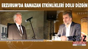 Erzurum'da Ramazan bir başka güzel
