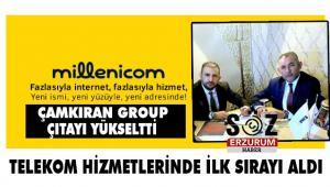 Millenicom Çamkıran Groupla büyüyor