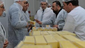 Süt İşleme Tesisleri ziyaret edildi