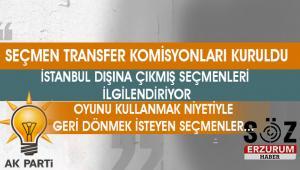 Ak Parti'den İstanbul Seçimleri Geri Dönüş Çalışmaları