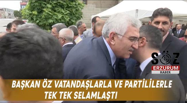 AK Parti Erzurum'da Bayramlaşma