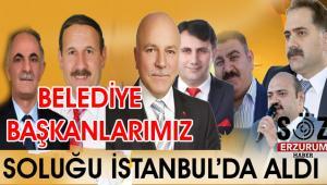 AK Partili Başkanlar İstanbul'da