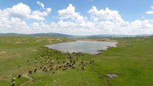 Göletlerin her biri küçük birer baraj niteliğinde