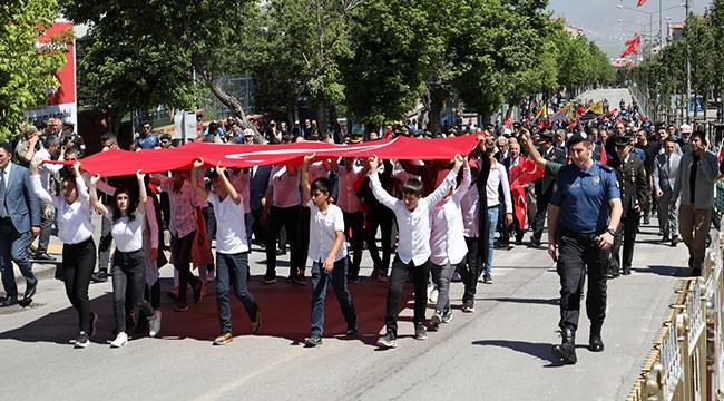 Atatürk'ün Erzurum'a gelişinin 100.Yıldönümü törenlerle kutlandı