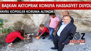 Başkan Aktoprak'tan duyarlılık örneği