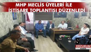 Karataş Meclis Üyeleri ile bir araya geldi