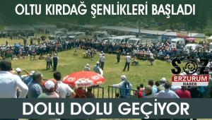 Oltu'da 15.Geleneksel Kırdağ festivali düzenlendi