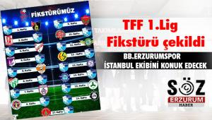 TFF 1.Lig Fikstürü çekildi