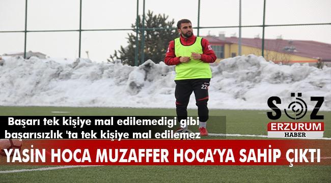Futbol tek taraflı oynanan bir oyun değildir !