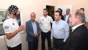 Rektör Çomaklı Erzurum Protokolünü konuk etti