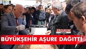 Büyükşehir'den 5 Bin kişiye Aşure ikramı