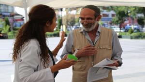 İl Sağlık Müdürlüğü halk sağlığı haftasını kutladı