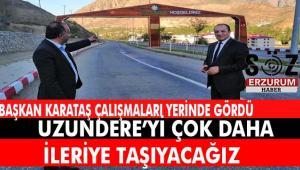 MHP İl Başkanı Karataş Uzundere İlçesi'ni ziyaret etti