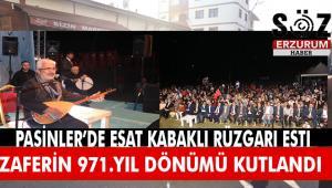 Pasinler Zaferi'nin 971.Yıl dönümü dolayısıyla etkinlikler düzenlendi