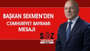 29 Ekim Cumhuriyet Bayramı Mesajı