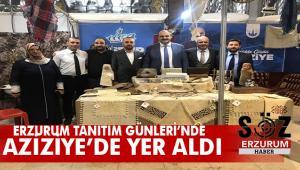 Erzurum Tanıtım Günleri'nde Aziziye rüzgarı