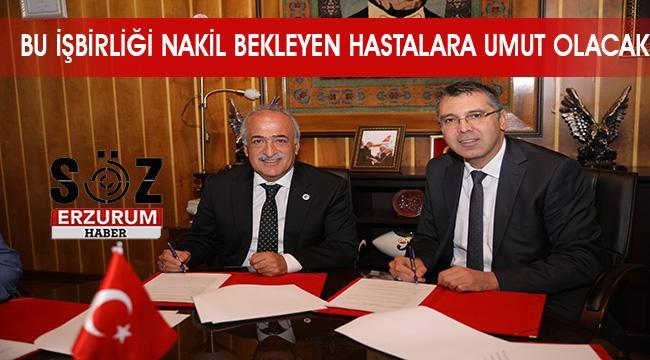 Kornea Nakline Yönelik İş Birliği Protokolü imzalandı