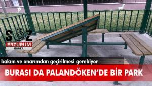 Muhammet Lütfi Efendi Parkı eski işlevselliğini kaybetmiş durumda