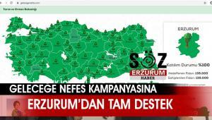 11 milyon fidan toprakla buluşturulacak