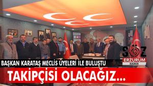 Başkan Karataş Meclis Üyeleriyle istişare etti