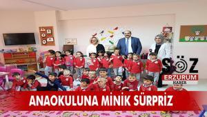 Başkan Orhan Nenehatun Anaokulu'nu ziyaret etti