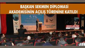 Erzurum'un Yükselen Eğitim Projesi:Diplomasi Akademisi
