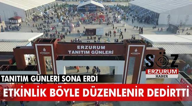 İstanbul'da Erzurum Tanıtım Günleri sona erdi