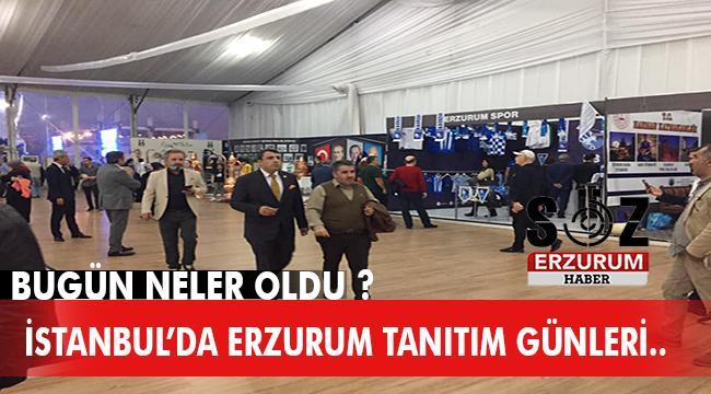 İstanbul'da Erzurum Tanıtım Günleri