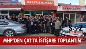MHP Erzurum İl Teşkilatı Çat'a çıkarma yaptı