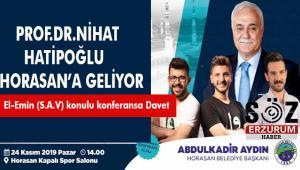 Prof.Dr.Nihat Hatipoğlu,Esma 'ün Nebî 'yi anlatacak