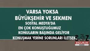 Sessiz Çoğunluk ve Erzurum