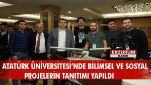 """ATATÜRK ÜNİVERSİTESİ'NDE """"MİLLİ TEKNOLOJİ HAMLESİ"""" HEYECANI YAŞANDI"""