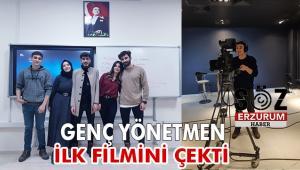 Diyarbakır'ın En Genç Yönetmeni ilk filmini çekti