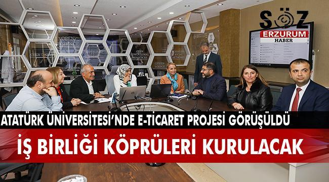 Erzurumlu kadınlara e-ticaretin yolunun açılması için iş birliği yapılacak