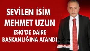 Mehmet Uzun ESKİ'de Daire Başkanlığına atandı
