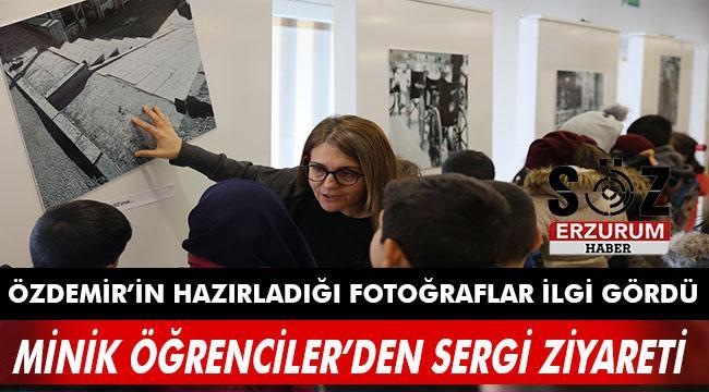 Minik Öğrenciler Fotoğraf Sergisini ziyaret etti