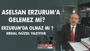 ASELSAN ERZURUM'A GELEMEZ Mİ?