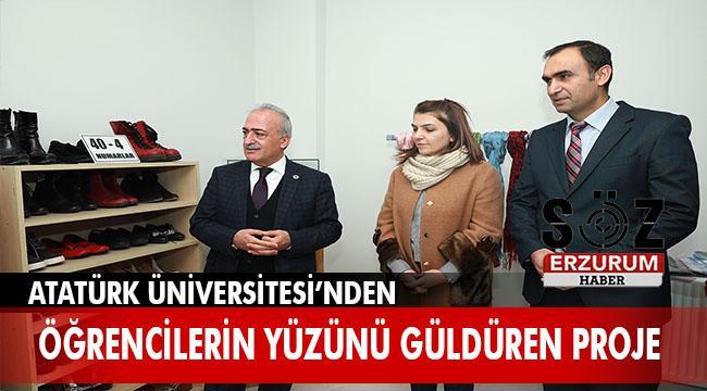 Atatürk Üniversitesi'nden Giy-Çık Atölyesi projesi
