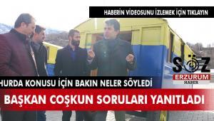 Başkan Coşkun'dan ''Hurda'' açıklaması