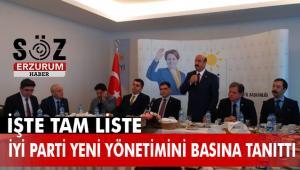 İYİ Parti'de il yönetim kurulu belirlendi