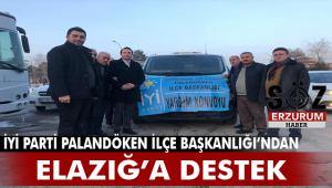 İYİ Parti'den Elazığ'a yardım seferberliği