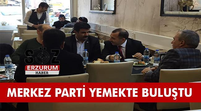 Merkez Parti Genel Başkanı Karslı Erzurumdaydı