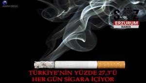 Türkiye'de her gün sigara içenlerin oranı belli oldu