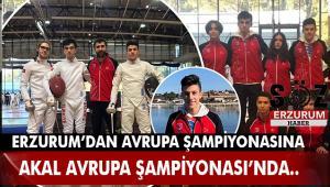 Avrupa Şampiyonası'nda Erzurumlu Gururumuz