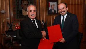 Erzurum Teknik Üniversitesi ile Atatürk Üniversitesi arasında yeni iş birlikleri