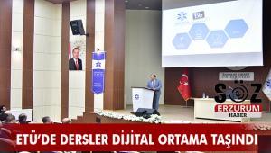 ETÜ'de Dijital dönüşüm: Dersler Dijital Ortamda
